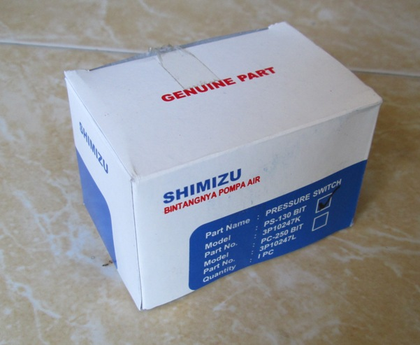 pressure switch Shimizu