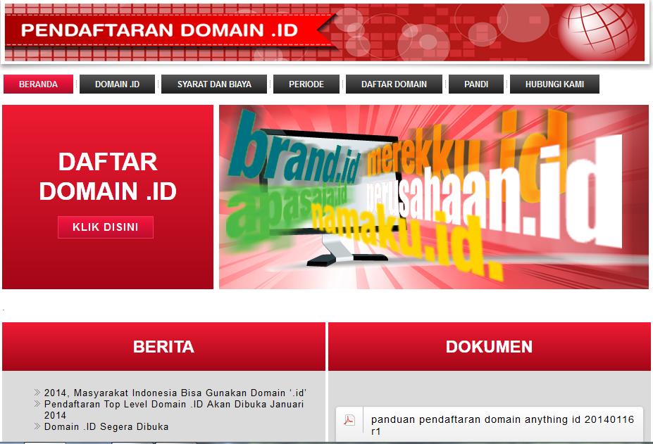PANDI Meluncurkan TLD (dot)ID