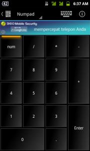 WIN - Remote Lite - numpad