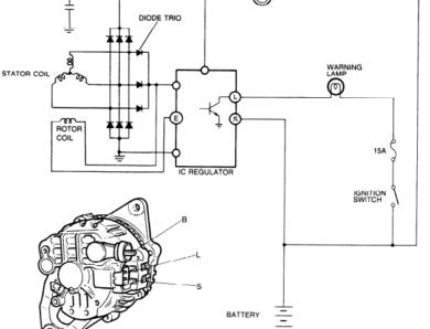 Alternator Mazda 323 Interplay