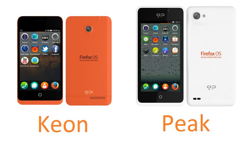 Penampakan Smartphone Firefox OS