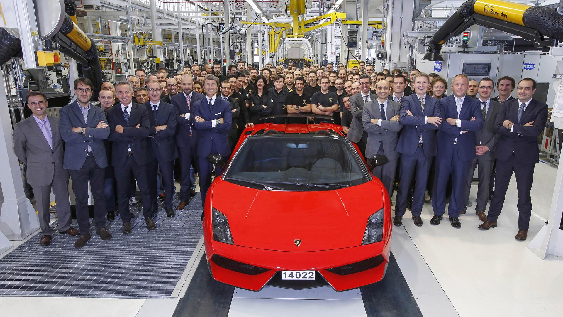 Angka 14022 – Gallardo Terakhir Lamborghini