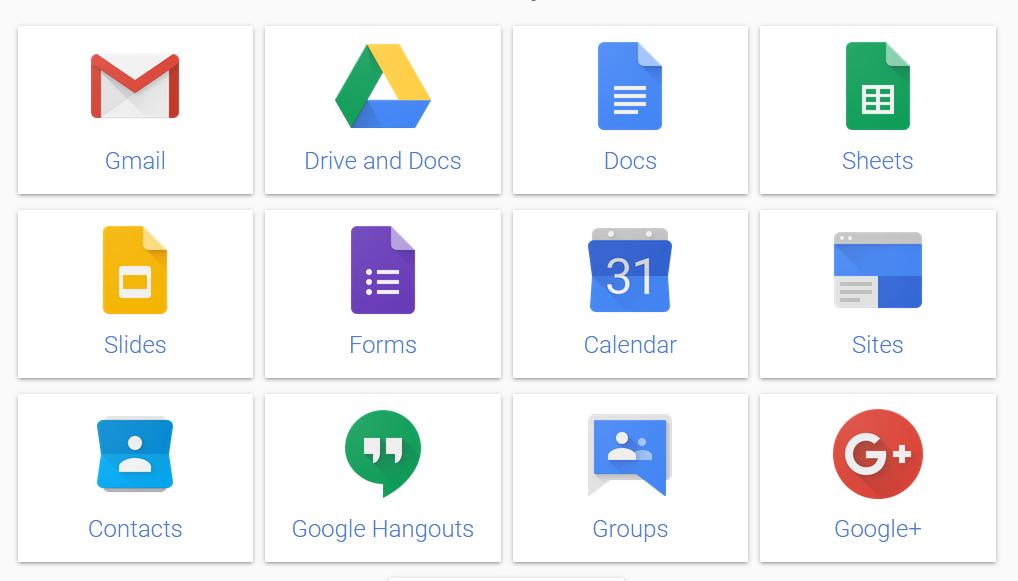 Google Apps Ternyata Sekarang Berganti Nama Menjadi GSuite